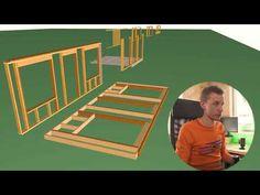 Правильная стена каркасного дома по канадской технологии от А до Я. Полная инструкция по СП 31-105 - YouTube Home Projects, Kids Rugs, Youtube, Decor, House, Frame, Wood, Houses, Picture Frame