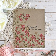 Anniversary Set Mixed Bouquet Card by Heather Nichols for Papertrey Ink (February 2018)