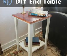 Simple DIY End Table