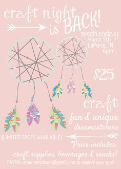 ATE Craft Night is BACK!