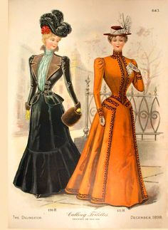 Delineator 1898-12 Fashions http://www.magazineart.org/magazines/d/delineatorfashionpages/Delineator1898-12Fashions2.html