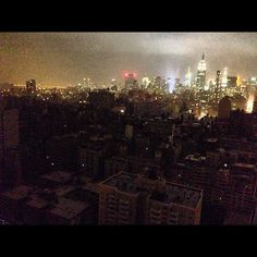 """Photo by nicksummers: """"And the lights go out in the Village"""""""