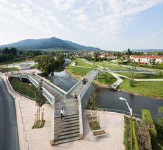 Atelier Cité Architecture: Requalification du centre ville et des entrées de ville de Raon l'étape tranche 2/4, Raon l'étape, 2009-2012