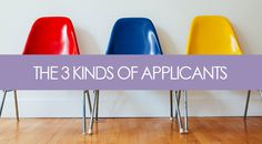 3 types of candidates that respond to job postings - which 1 are you?  |  Brooklyn Resume Studio  |  #career #resumes