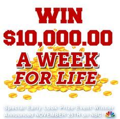 pch 2012 sweepstakes win cash for life on pch publishers clearing house sweepstakes - PIPicStats Instant Win Sweepstakes, Online Sweepstakes, Win For Life, Winner Announcement, Publisher Clearing House, Winning Numbers, Cash Prize, Enter To Win, Dream Life