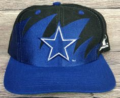20b51909 Dallas Cowboys Vintage Snapback Logo Athletic Sharktooth Hat Pro Line NFL  Rare C Indianapolis Colts,