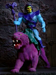 Skeletor and Panthor. These would look good on my desk or a bookshelf in my office.