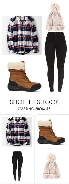 """""""Untitled #673"""" by karinasoto39 on Polyvore featuring American Eagle Outfitters"""