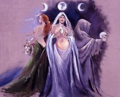 Triple Goddess - artist? (Facebook)