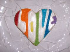 Rainbow Heart | Cookie Connection