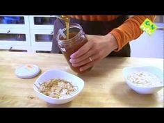Crema de cereales - Cocina macrobiótica - generacionnatura.org - YouTube Tostadas, Happy Vegan, Carne, Oatmeal, Rice, Breakfast, Youtube, Food, Macrobiotic Recipes