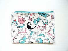 Pochette I-pad mini chats kawaii