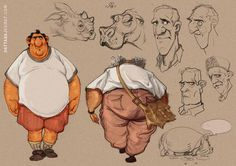 DATTARAJ KAMAT Animation art: Sketches
