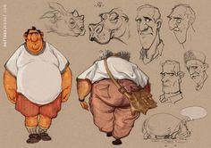 DATTARAJ KAMAT Animation art: Today's stuff from the sketchbook...