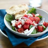 Mediterranean Watermelon Salad  - 12-28-2014