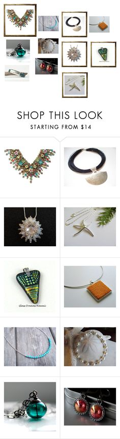 """""""Gifts for Her"""" by keepsakedesignbycmm ❤ liked on Polyvore featuring Michal Negrin, etsy, jewelry and accessories"""