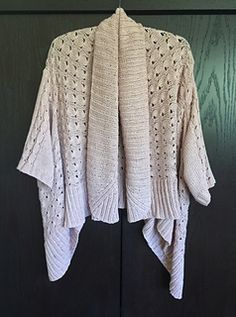 Upside Down Cardigan  by Chialee Yeh