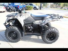 New 2016 Suzuki KingQuad 400ASi Camo ATVs For Sale in Florida. 2016 Suzuki KingQuad 400ASi Camo, Call (866) 374-0612 and ask for Ed. Se Habla Espánol. 2016 Suzuki KingQuad 400ASi Camo Trusted. Rugged. Reliable Task or trail, the KingQuad 400ASi Camo handles it all with exceptional performance. Two and four-wheel drive modes will help you handle rough weather conditions while completing even the most demanding chores. The advanced QuadMatic transmission offers smooth power delivery with…