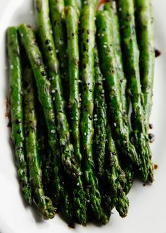 Grilled Asparagus with Balsamic