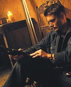Jensen Ackles as Dean #Supernatural Promo