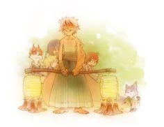 Fox Family by shirotsuki.deviantart.com