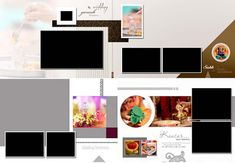 Weddings Discover Wedding Album Refill Pages Wedding Album For Photos Wedding Album Cover, Wedding Photo Albums, Indian Wedding Album Design, Wedding Designs, Marriage Photo Album, Budget Wedding Invitations, Album Cover Design, Wedding Reception Decorations, Wedding Website