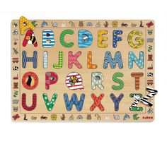 Wooden Letter Puzzle Djeco Children- A large selection of Toys and Hobbies on Smallable, the Family Concept Store - More than 600 brands. Wooden Letters, Malta, Kids Room, Hobbies, Concept, Lettering, Rugs, Holiday Decor, Children