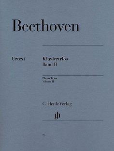 HENLE VERLAG BEETHOVEN L.V. - PIANO TRIOS, VOLUME II Classical sheets Piano   올뮤직파인더