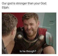 It's that time of the week where we round up some of our favorite Christian memes circulating the Internet! Here were 10 memes that we hope will give you a good laugh, too! A post shared by Christian Memes By Conor ( on May 2018 at PDT A post shared … Bible Humor, Jw Humor, Funny Relatable Memes, Funny Jokes, Funny Jesus Memes, Funny Church Memes, Jesus Jokes, Funny Comebacks, Funny Sarcasm