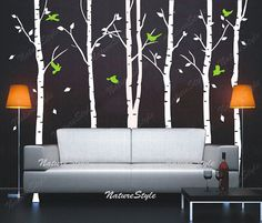 tree wall decal nature forest