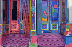 Paint peeling off old colorful doors in Santa Fe. Entry Doors, Entrance, Front Doors, Portal, Cool Doors, Painted Doors, Doorway, Windows And Doors, Architecture Details
