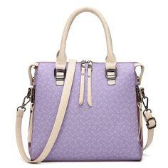 f9b0e5e867  RoseWholesale -  Rosewholesale Faux Leather Handbag - AdoreWe.com Luxury  Handbags