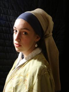 La Jeune Fille la Perle Johannes Vermeer