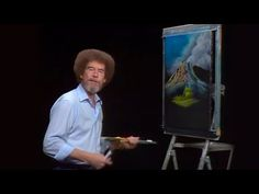 Bob Ross - A Pretty Autumn Day (Season 24 Episode Learn Watercolor Painting, One Stroke Painting, Acrylic Painting Tutorials, Painting Videos, Painting Lessons, Painting Techniques, Bob Ross Episodes, Pinturas Bob Ross, Robert Ross