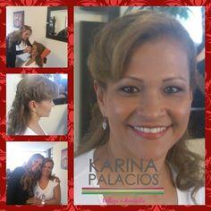 Karina. Angulo Hair. & Makeup. Karina Palacios