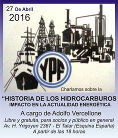 YPF - HISTORIA DE LOS HIDROCARBUROS