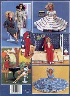 gift presents for kids: barbie fashion | make handmade, crochet, craft.