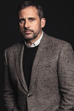 Steve Carell, photographed by Justin Bishop, TIFF 2014