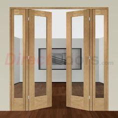Image of Easi-Frame Oak Door Set, GOSHAP10-COEOP1, 2005mm Height, 1910mm Wide.