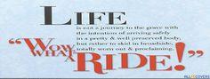 Life Facebook Cover