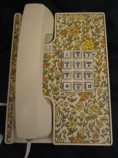 Flower Telephone (Exeter) Model Vintage Western Electric Touch Tone Telephone…