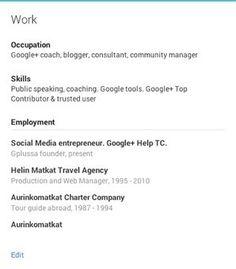 Google+ - Plussan puolella: Google+ ja työnhaku | Työnhaku - rekrytointi - some | Scoop.it
