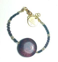 DW Boho Jewels  bracelet - Purple rain door DWBohoJewels op Etsy