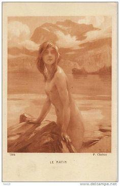 Paul Émile Chabas (1869–1937) - Les Nymphes de Danse [Dancing Nymphs] - Pesquisa…