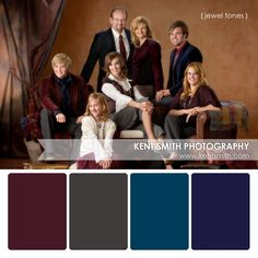 Portrait Palette {jewel tones} #Photography #clothing