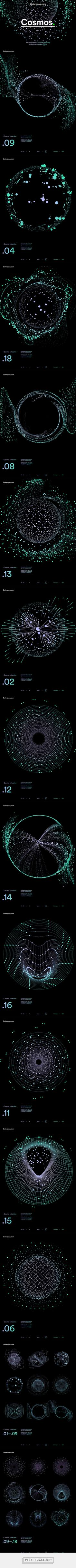 Colorpong.com - Cosmos – Vector Collection on Behance - created via http://pinthemall.net