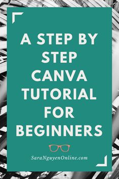 How to use Canva - A step by step Canva tutorial for beginners - Sara Nguyen Graphic Design Tools, Tool Design, Social Media Images, Social Media Tips, Canvas Learning, Silhouette Cameo, Software, Media Marketing, Digital Marketing