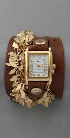 16 mejores imágenes de Relojes de cuero  9afc2b676e37