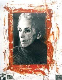 Peter Beard, la fotografía salvaje.  karen Blixen 1961