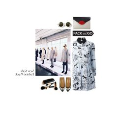 She by i-love-shoes93 on Polyvore featuring Carven, ASOS, Lulu Guinness, The Row, Iman and nyfwfashion